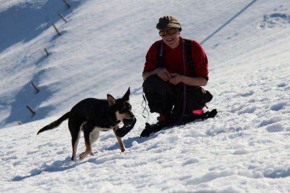 Flika in de sneeuw6